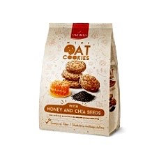 Viktorija ir Partneriai - Oatmeal Cookies with Honey and Chia Seeds 250g