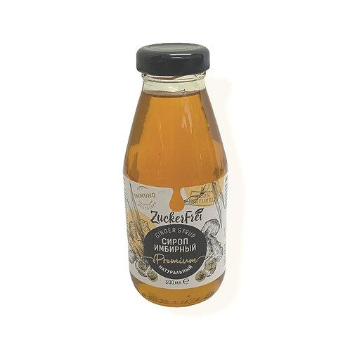 Natural Ginger Syrup Sugar Free 300ml