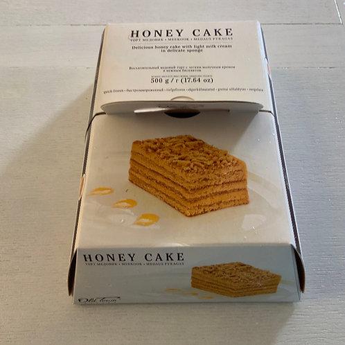 Cake Honey Frozen 500g