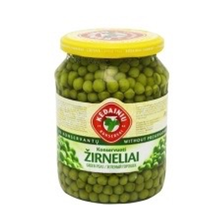 Kedainiu Konservai Pickled Green Peas 720ml