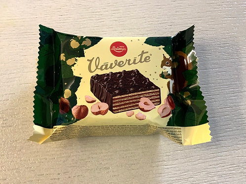 "Laima ""Vaverite"" Glazed Wafer Cake 40g"