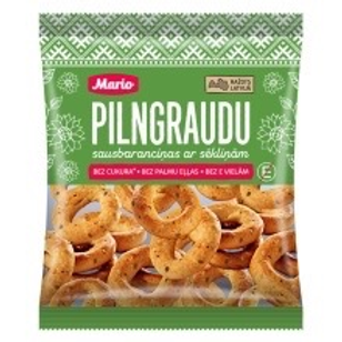 Mario Wholegrain Breadrings with Seeds 220g