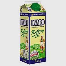 Dvaro - Kefyr 2.5% 900g tetra-pak
