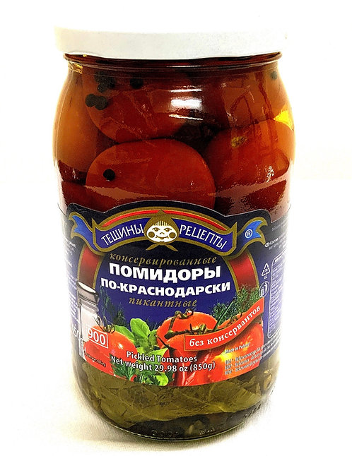 Teshchiny Recepty Po Krasnodarski Tomatoes 900ml