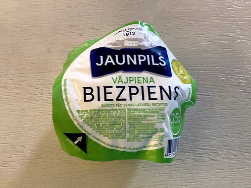 Jaunpils Curd Cheese 0.5% Fat 275g