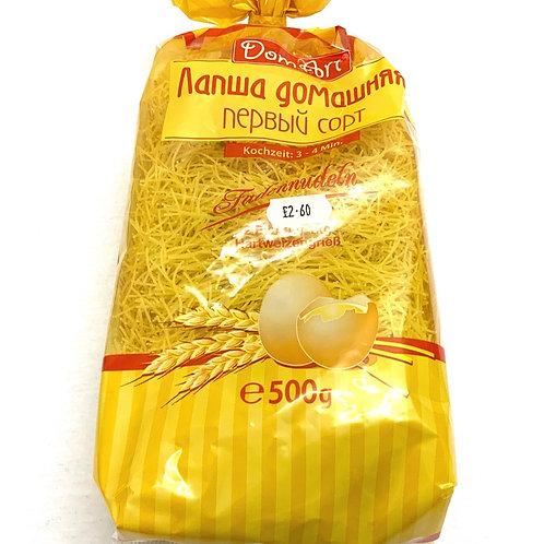 "Noodles "" Lapsha Domashnija 2 eggs "" 500g"
