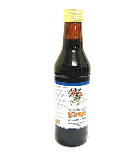 Rosehip Syrup With Vitamin and Sugar 250ml