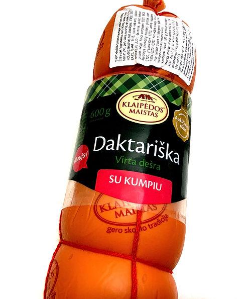 Klaipedos Maistas - Daktariska with Ham Cooked Sausage 600g