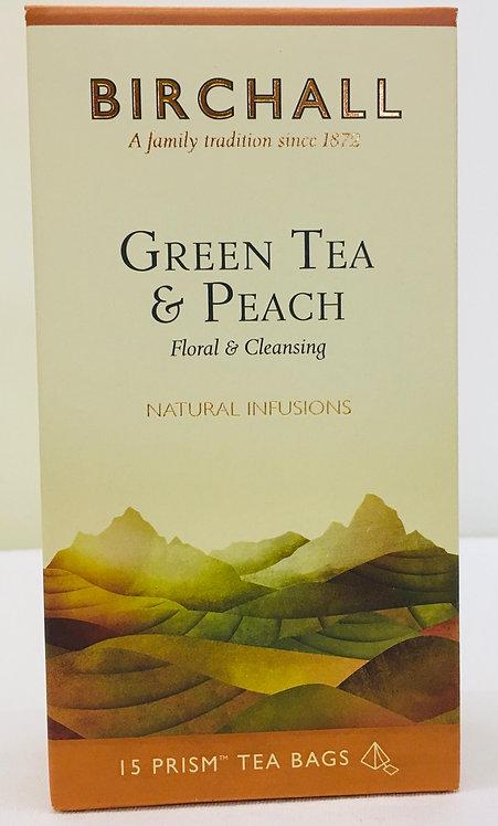 Birchall Green Tea And Peach