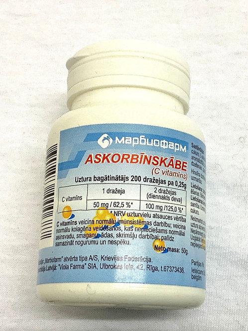Vitamin C 50 Askorbinka