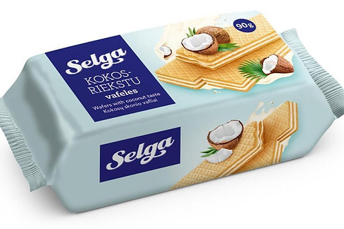 Selga Wafers With Coconut Taste 90g
