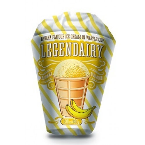 "Ice Cream With Banana Flavour "" Legendairy "" 80g"