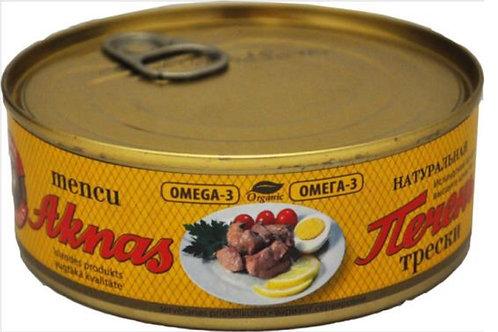 "Cod liver ""Riga's Traditional"" 240g"