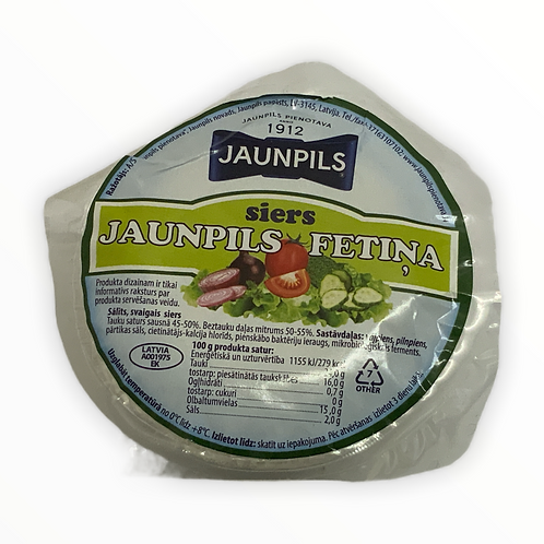 Jaunpils Feta Cheese180g