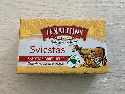 """ZMR Butter """" Zemaitijos """" 82% Fat  200gr"""