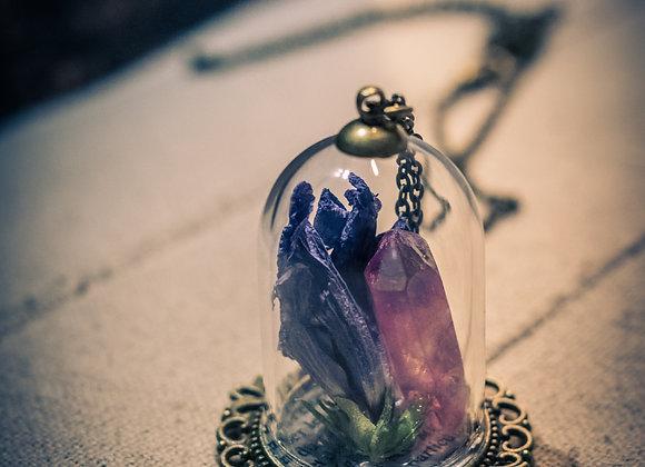 Les larmes du temps - Collier de verre