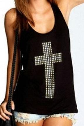 Croix argenté DEBARDEUR