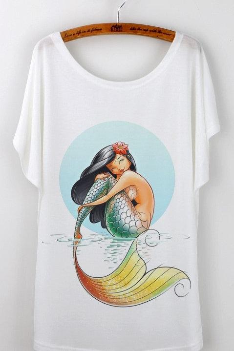 Tahiti mermaid SHIRT