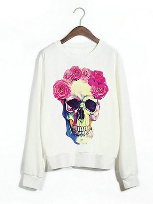 Flower skull SWEAT