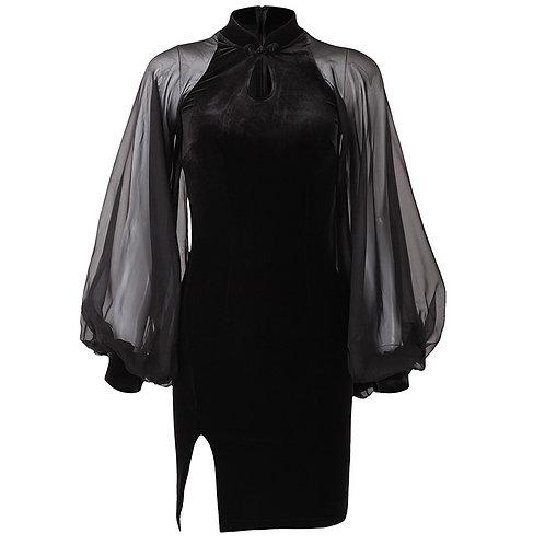 Japan gothic MINI DRESS