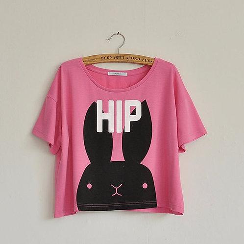 Hip Hop Rabbit CROP TOP