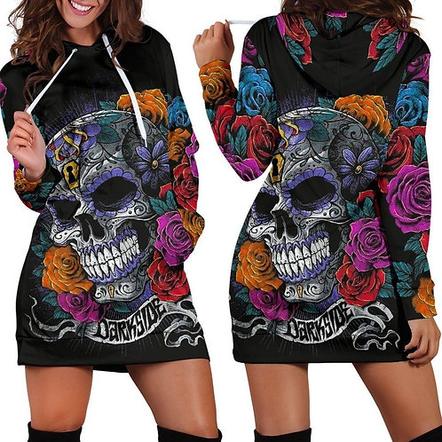 Darkside HOODIE DRESS