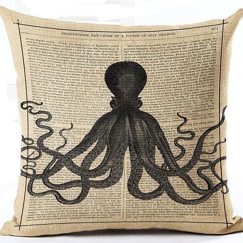Octopus HOUSSE DE COUSSIN