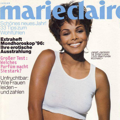 Janet Jackson German Marie Claire