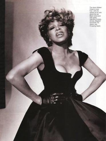 Tina Turner  Elle Magazine