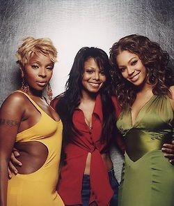 Mary J. Blige , Janet Jackson and Beyonce