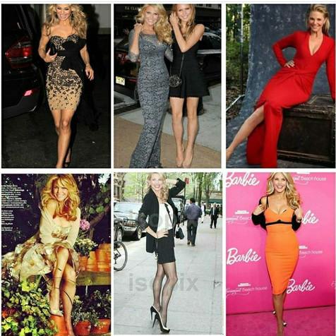 Many best dressed looks on Christie Brinkley
