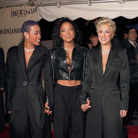 Shawnette Heard, Janet Jackson and TIna Landon