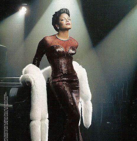 Janet Jackson as Lena Horne for Vanity Fair