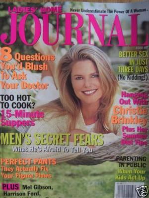 Christie Brinkley Ladies Home Journal