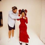 Janet Jackson and Wayne Scot Lukas