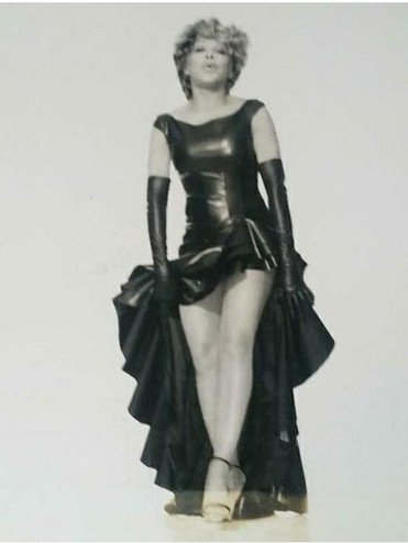 Tina Turner Poloroid Elle Magazine