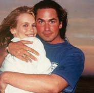 Claudia Schiffer and Wayne Scot Lukas