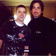 Justin TImberlake and Wayne Scot Lukas