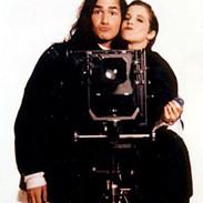 Katie Couric and Wayne Scot Lukas