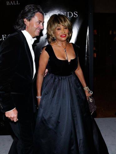 Tina Turner and Husband