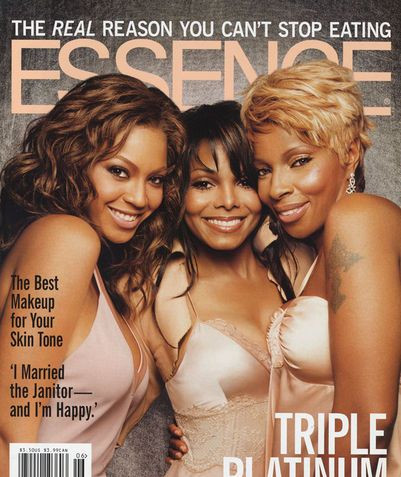 Beyonce , Janet Jackson, Mary J. Blige Essence Cover