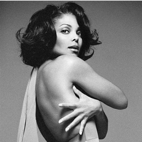 Janet Jackson Bazaar Magazine