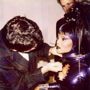 Wayne Scot Lukas and Janet Jackson