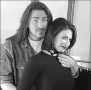 Stacy London and Wayne Scot Lukas