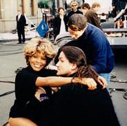Tina Turner and Wayne Scot Lukas