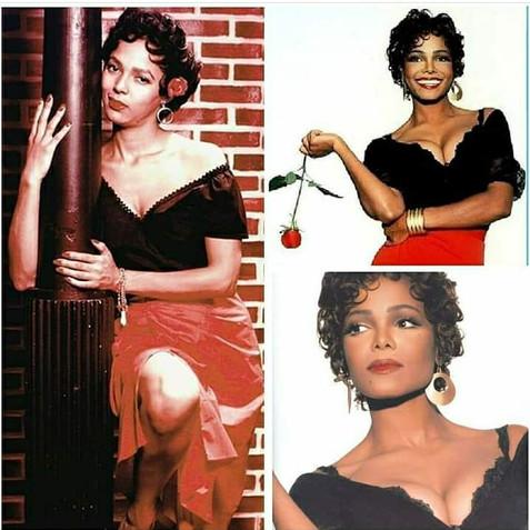 Janet Jackson as Carmen Jones