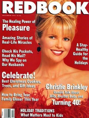 Christie Brinkley Redbook-December-1993