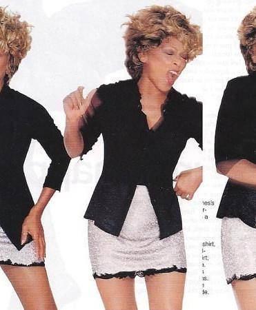 Tina Turner  Elle Magazine Capetown South Africa