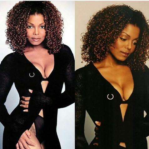 Janet Jackson Vibe Magazine Cover