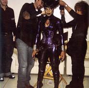 Mathu Anderson, Wayne Scot Lukas , Janet Jackson and Janet Zeitoun